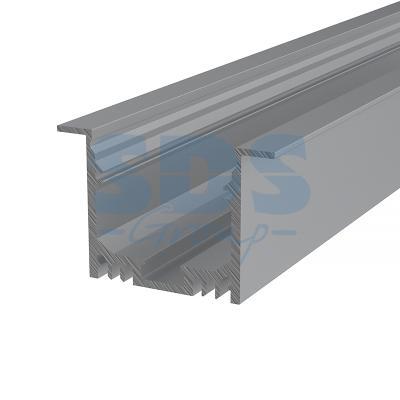 Профиль врезной алюминиевый 5032-2 REXANT, 2м 5032 osc 50m 50mhz 50 000mhz sg5032can