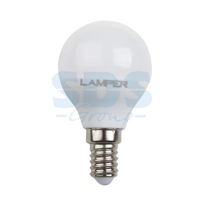 Лампа LED G45 E14 5W 4000K 435Lm 220V STANDARD Lamper corn style 5w 50 led rgb christmas decorative string light 220v 2 round pin plug 5 meters