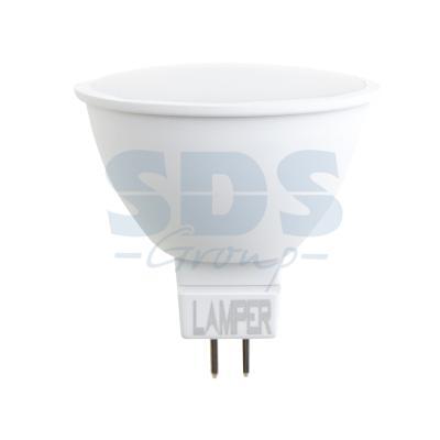 Фото - Лампа LED MR16 GU5.3 7W 4000K 580Lm 220V STANDARD Lamper cветильник галогенный de fran встраиваемый 1х50вт mr16 ip20 зел античное золото
