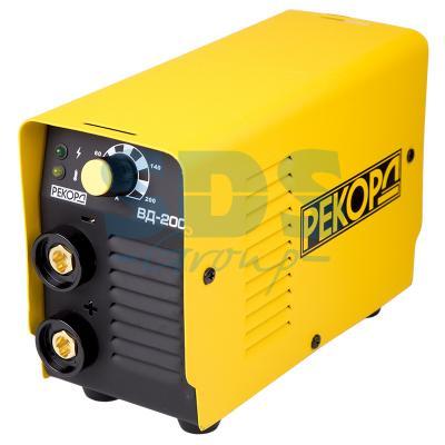 Аппарат инверторный РЕКОРД ВД-200 (220В, 20-200А) аппарат инверторный brima arc 250 220в