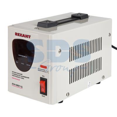 Стабилизатор напряжения Rexant АСН-500/1-Ц