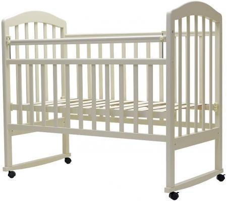 Кроватка-качалка Топотушки Сильвия-2 (арт. 44/слоновая кость)