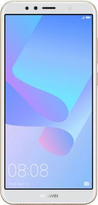 Смартфон Huawei Y6 Prime 2018 16 Гб золотистый 51092KQG смартфон