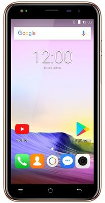 Смартфон Texet TM-5073 8 Гб золотистый blackview a8 смартфон