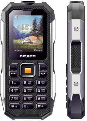 Мобильный телефон Texet TM-518R черный мобильный телефон texet tm 501 черный