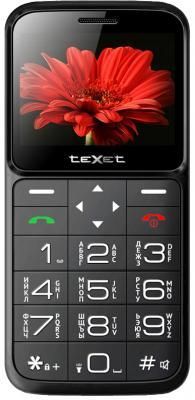 цена на teXet TM-B226 черный-красный Мобильный телефон