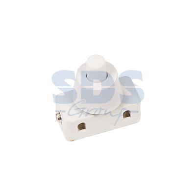 Выключатель-кнопка 250V 2А (2с) ON-OFF белый (для настольной лампы) REXANT выключатель rexant 250v 2a 2с 06 0338 a