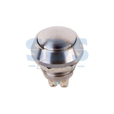 Кнопка антивандальная O12 Б/Фикс (2с винт) (ON)-OFF сфера REXANT выключатель кнопка 250v 1а 2с on off б фикс красная micro pbs 33в rexant блистер