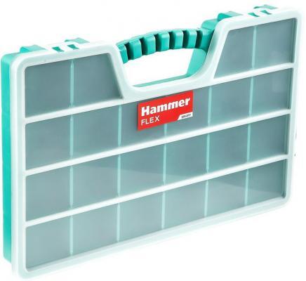 Органайзер Hammer Flex 235-017  22ячейки с разделителями 510х325х60 мм