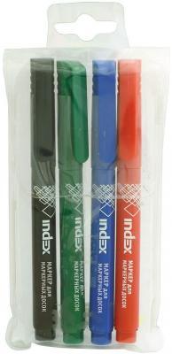 Набор маркеров для доски, 4 цв. в PVC - пенале|2 набор маркеров 4 цв stabilo