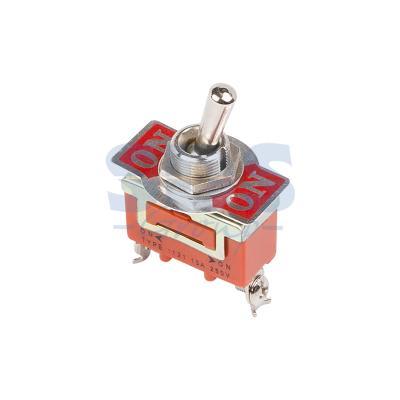 Тумблер 250V 15А (3c) ON-ON однополюсный REXANT 6 pin on on toggle switches orange ac 250v 2 pcs