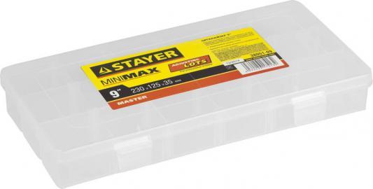 Органайзер STAYER 38051-09  пластиковый для крепежа и принадлежностей 230х125х35мм 9