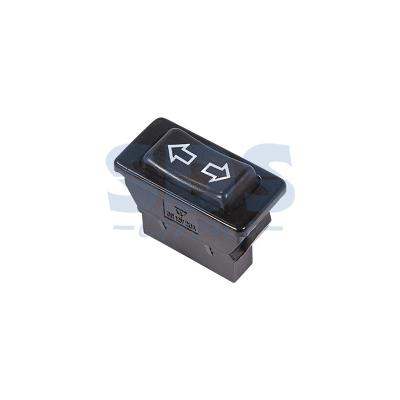 Выключатель (стеклоподъемника) клавишный 12V 20А (5с) (ON)-OFF-(ON) черный REXANT car off on rocker switches with blue light indicator 5 piece pack 12v