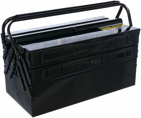 Ящик TOPEX 79R100 для инструмента металлический 40x20x21см ящик topex 79r126 для инструмента 22 лоток