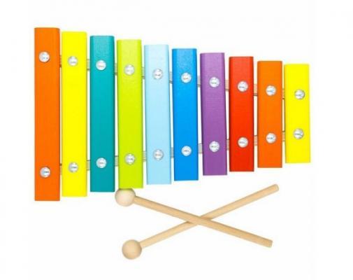 Купить Ксилофон alatoys Ксилофон КС1001, разноцветный, Детские музыкальные инструменты