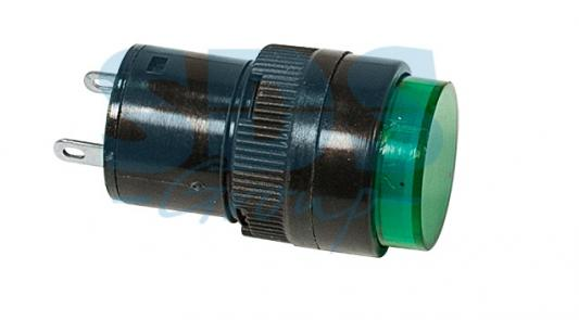 Индикатор O16 220V зеленый REXANT