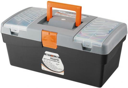 Ящик STELS 90704 420х220х180мм 17 пластик ящик для инструментов stels 90713