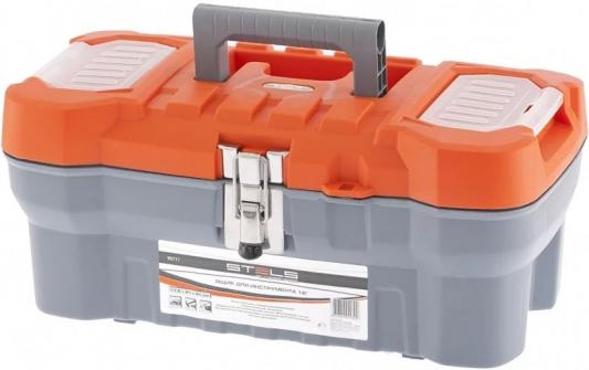 Ящик STELS 90711 для инструмента с мет. замками 16 175х210х410мм ящик для инструментов stels 22 28х23 5х56см 90713