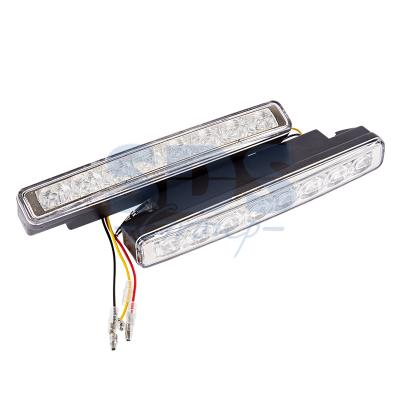 Дневные ходовые огни с указателем поворота в пластиковом корпусе 16 диодов alpino восковые темперные pintacolor в пластиковом корпусе