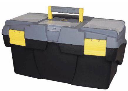 Ящик STANLEY 1-92-076 16 для инструмента с 2-мя консольными и 2-мя органайзерами уровень stanley 42 076 20 48 1220mm