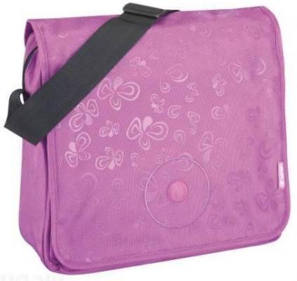 Сумка Herlitz be.bag Flower Splash Purple розовый 11281474 natassie women crystal clutches bags ladies evening bag female red purple party clutch wedding purse
