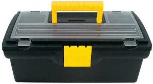 Ящик для инструмента FIT 65500 пластиковый 13 (33 х 17,5 х 12,5 см) ящик для инструмента fit 65562 пластиковый 16 41 х 21 5 х 19 7 см