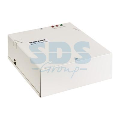 Блок питания резервированный 12В, 5А, под АКБ 7А/ ч DC-497 блок питания мегеон 30305 –30в–5а