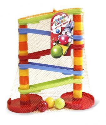 Купить Пирамида-Аттракцион Зайкина горка №1, Биплант, пластик, Пирамидки для малышей