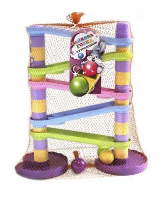 Купить Пирамида-Аттракцион Зайкина горка №2, Биплант, пластик, Пирамидки для малышей