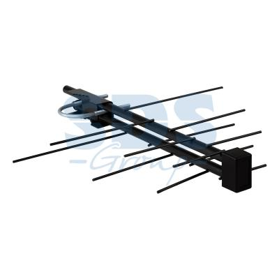 ТВ-Антенна наружная АКТИВНАЯ для аналогового и цифрового ТВ - DVB-T2 (модель RX-422) (пакет) REXANT автомобильная активная антенна avis avs001dvba 017a12 для цифровых тв тюнеров dvb t dvb t2