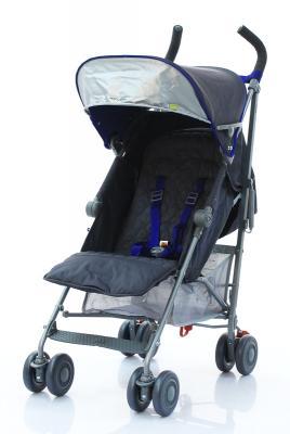 Коляска-трость Maclaren Quest Sport 2017 (charcoal-harbour blue/серый) коляска трость maclaren quest макларен квэст linen black wm1y041522