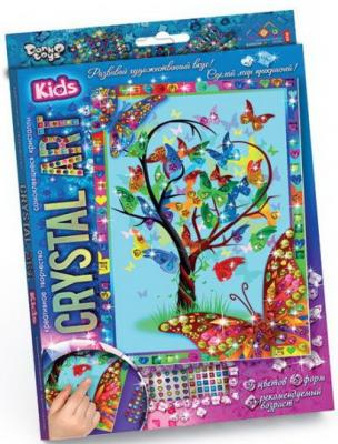 Набор креативного творчества ДАНКО-ТОЙС Crystal Art. Дерево желаний от 5 лет