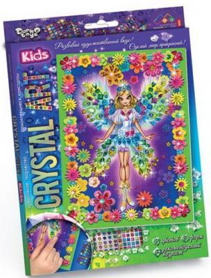 Набор креативного творчества ДАНКО-ТОЙС Crystal Art. Фея от 5 лет