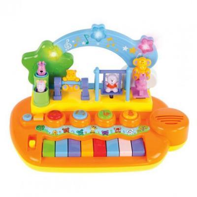 Интерактивная игрушка Жирафики Парк развлечений от 9 месяцев интерактивная игрушка жирафики каруселька для купания от 18 месяцев разноцветный 681124