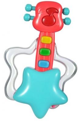 Интерактивная игрушка Жирафики Гитара от 6 месяцев интерактивная игрушка жирафики каруселька для купания от 18 месяцев разноцветный 681124
