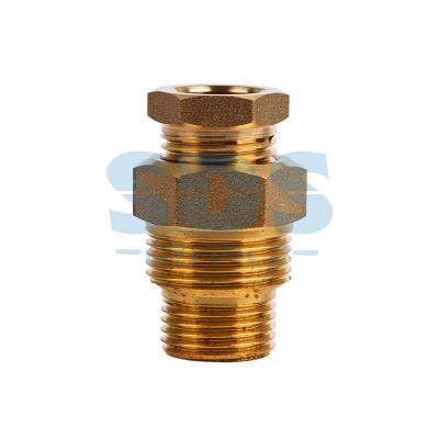 Сальник с двойной резьбой 1/2 и 3/4 для ввода кабеля в трубу Proconnect оксихлорид алюминия