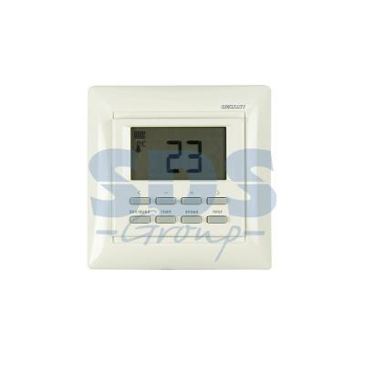 цена на Терморегулятор программируемый RX-527H (бежевый) REXANT (совместим с Legrand серии Valena) 51-0569
