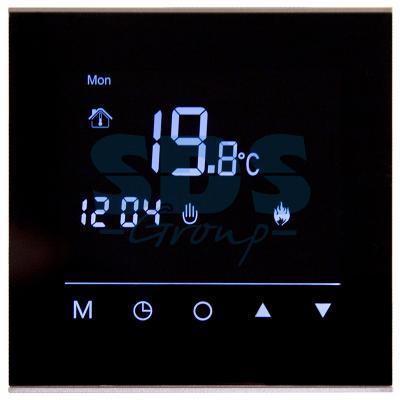 Терморегулятор сенсорный программируемый R300B (черный) REXANT терморегулятор программируемый spyheat nlc 527h белый