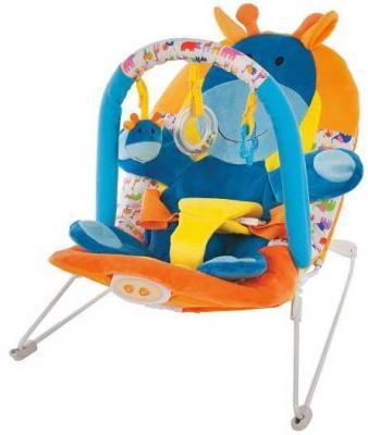 Кресло-качалка Жирафики Жирафик оранжевый от 2 месяцев пластик 939432 кресло качалка детское жирафики жирафики кресло качалка пингвинёнок