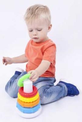 Развивающая игрушка Жирафики Пирамидка 939546 цена 2017