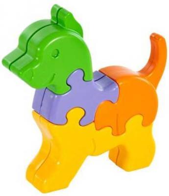 Купить Пазл 8 элементов Жирафики Собачка, Пазлы для малышей