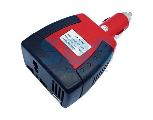 Автомобильный инвертор 75W 12V - 220V c USB портативный REXANT инвертор сварочный ресанта саи 160 190 240в 10 160а 1 0 4 0мм