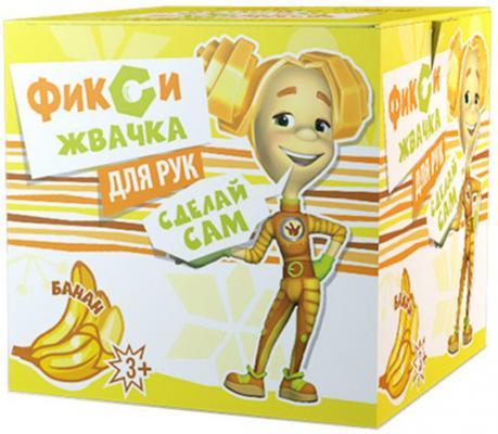 Набор Юный Химик Инновации для детей Фикси Жвачка для рук Банан желтый наборы для творчества инновации для детей набор для выращивания растений юный садовод