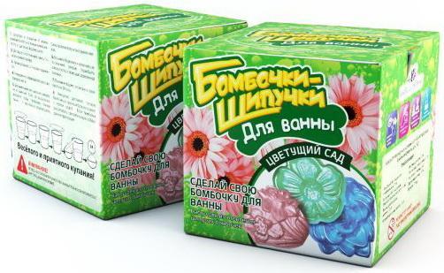 Набор Бомбочки-Шипучки Цветущий сад набор бомбочки шипучки зоопарк