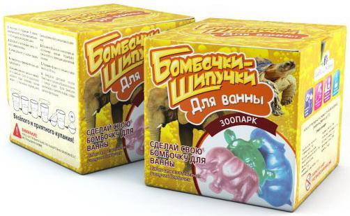 Набор Бомбочки-Шипучки Зоопарк набор бомбочки шипучки зоопарк