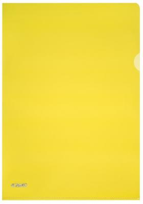 Папка-уголок ПИРАМИДА, ф.А4, желтая папка 2 кольца желтая 180 листов 221795