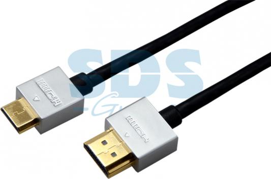 Шнур HDMI - mini HDMI gold 1.5М Ultra Slim (блистер) REXANT emie creative mini 5200mah power note ultra slim external battery