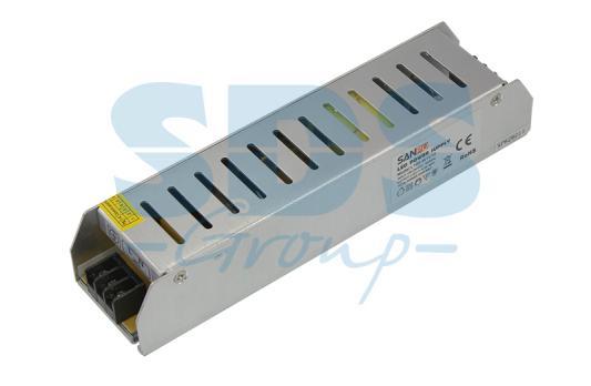 Источник питания компактный 12V, 120W с разъемами под винт, без влагозащиты (IP23) 12v 120w motorcycle car power socket outlet