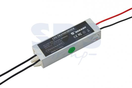 Источник питания 110-220V AC/12V DC, 0,5А, 5W с проводами, влагозащищенный (IP67) 5w dc 12v switching power supply ac 90v 240 110v 220v to dc 12v 400ma switching power supply ac to dc power converter adapter
