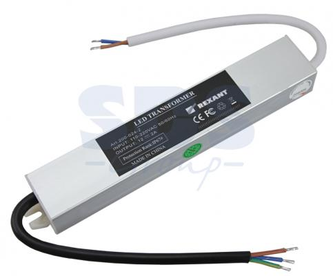 Источник питания 110-220V AC/12V DC, 2А, 24W с проводами, влагозащищенный (IP67) yobangsecurity ac 110 240v to dc 12v 3a power supply for door access control worldwide voltage